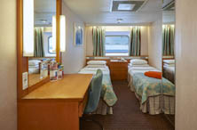 Exterior Stateroom(Obstructed View)
