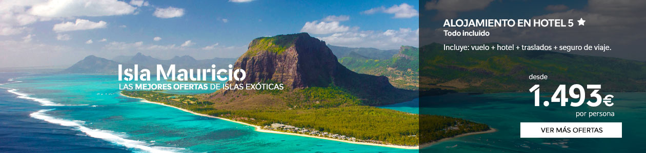 9 - Ofertas de viajes a Isla Mauricio