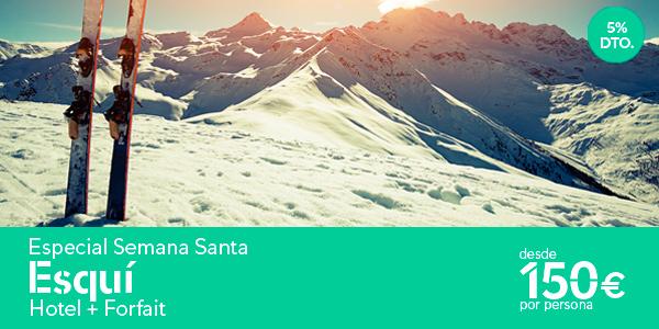 Esqui ofertas Semana Santa