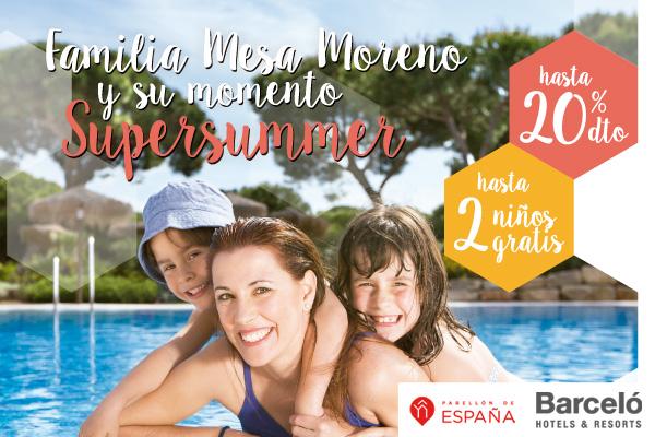 Familia Mesa Moreno y su momento Supersummer