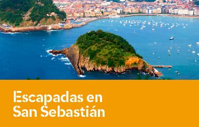 Escapadas en San Sebastián